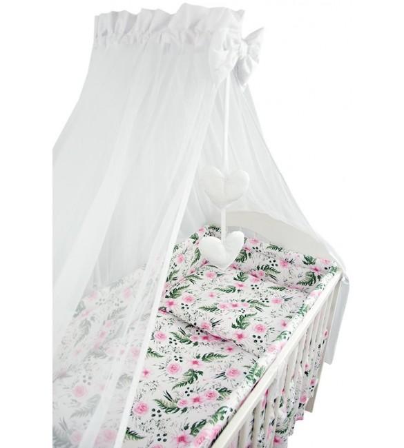Bērnu gultas veļa: 6 daļas Ankras ROSE K-6 pink (135, 360)