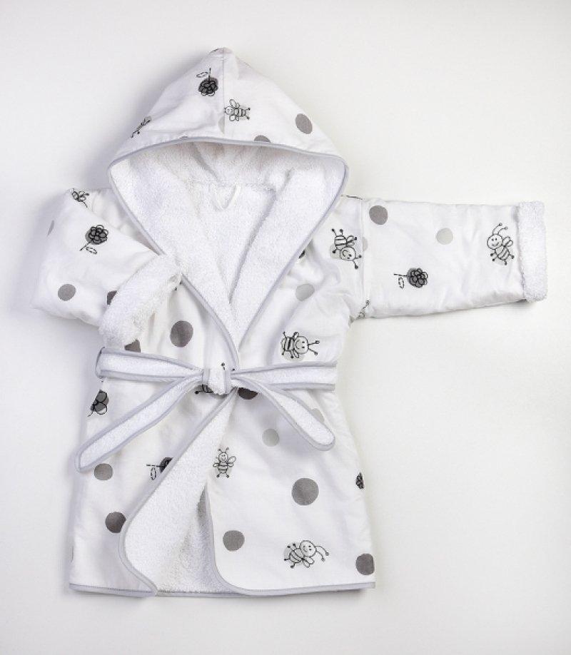 Bērnu halāts TROLL Bee ASC-BRBE01-AS-WH