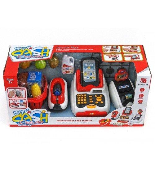 Bērnu kases aparats ar gaismu un skaņu 477230
