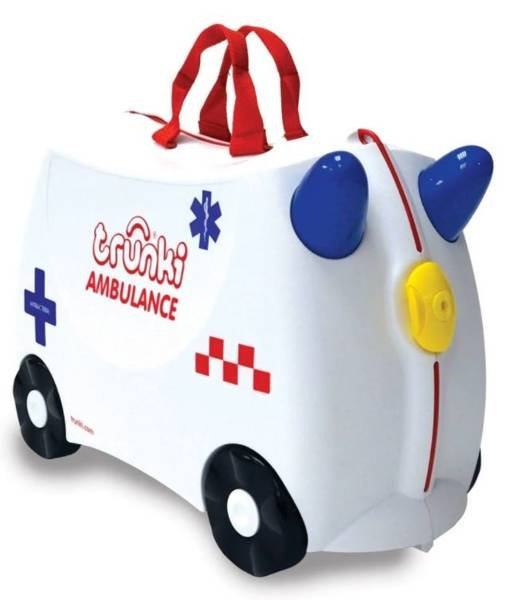 Bērnu koferis ar riteņiem Trunki Ambulance Abbie