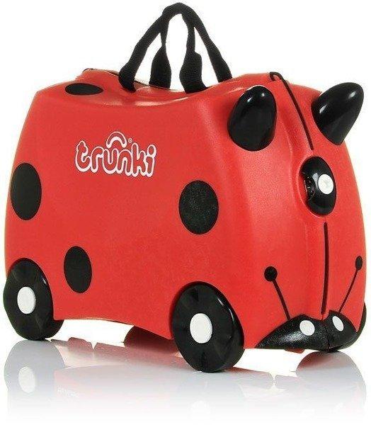 Bērnu koferis ar riteņiem Trunki Ladybug Harley