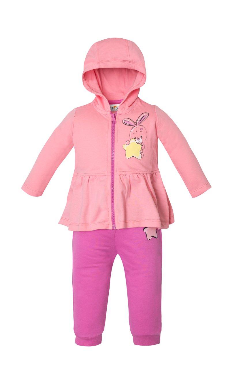Bērnu komplekts no 2 daļām: Bikses + Jaciņa Cango Kidswear BUNNY KET-KGSS-017