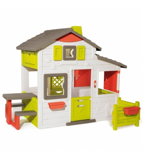 Bērnu mājiņa ar virtuvi SMOBY Neo Friends 217 x 171 x 172 cm 810203