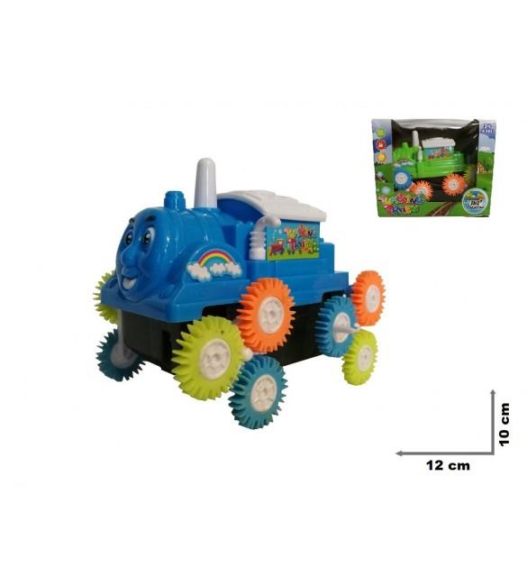 Bērnu mašīna-salto metēja Lokomotīve 12 cm TG380584