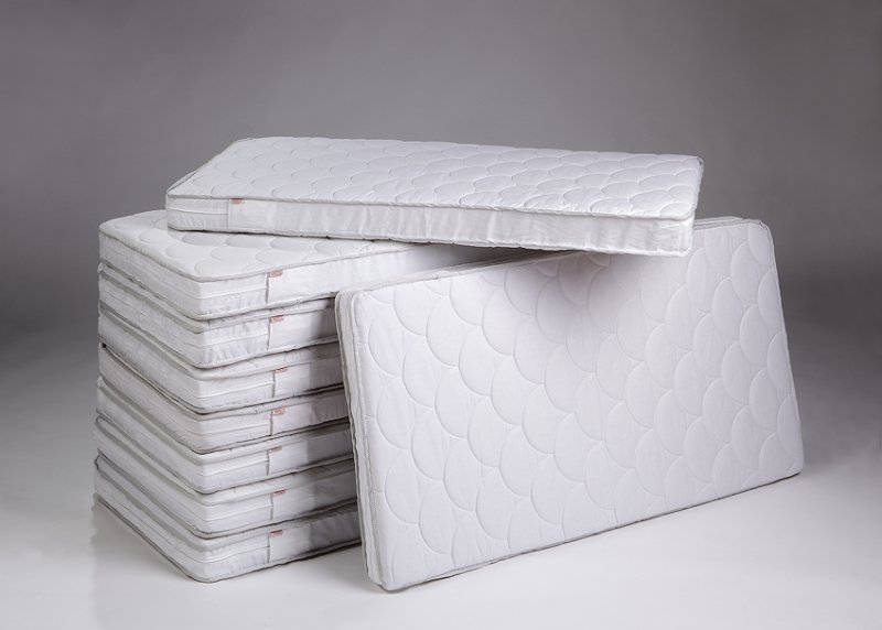 Bērnu matracis 120 x 60 cm TROLL Quilted Fiber Block MAT-FB0297