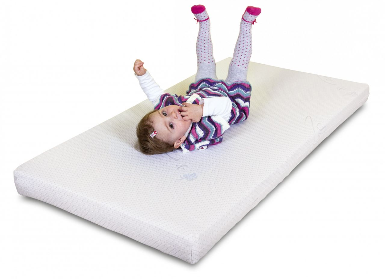 Bērnu matracis ar sudraba joniem 120 x 60 cm Danpol GRYKO-KOKO SILVER