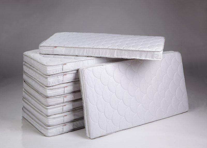 Bērnu matracis šūpulim 89x38 cm TROLL Quilted Fiber block MAT-FB1010
