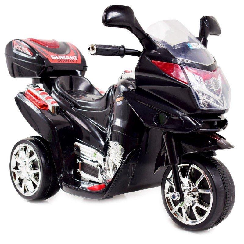 Bērnu motocikls ar akumulatoru Black ST-C051 (WDC051)