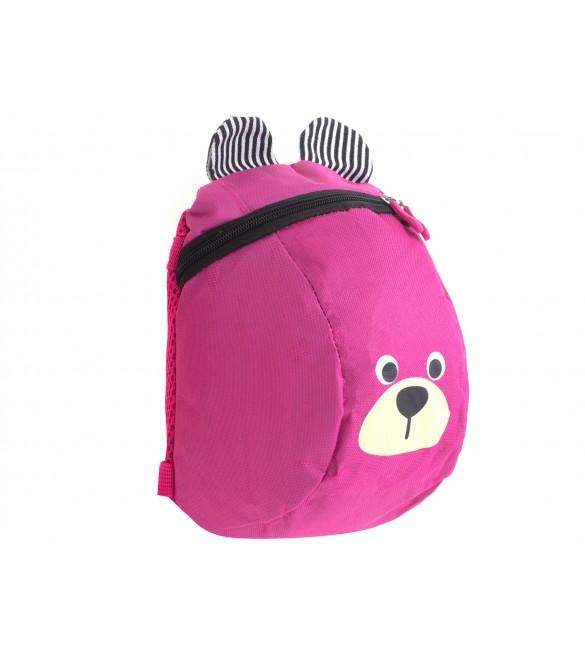 Bērnu mugursoma BEAR 6305/1 pink
