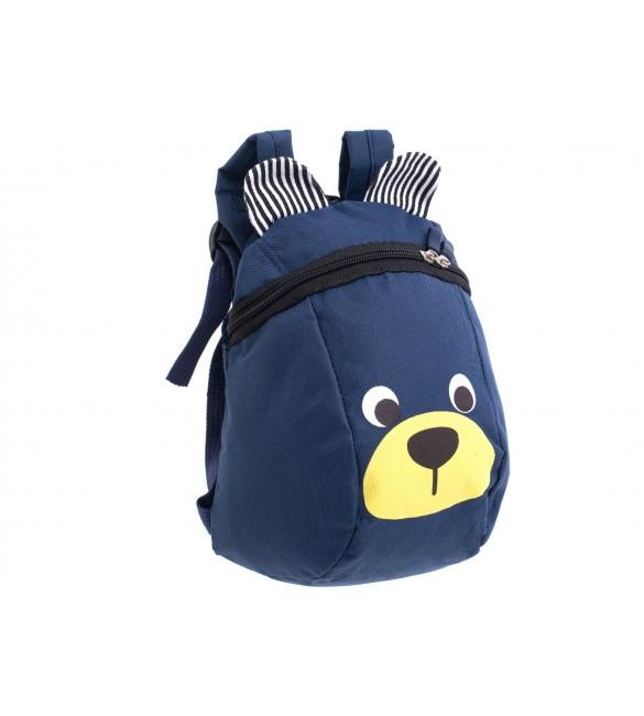 Bērnu mugursoma BEAR 6305/2 navy blue