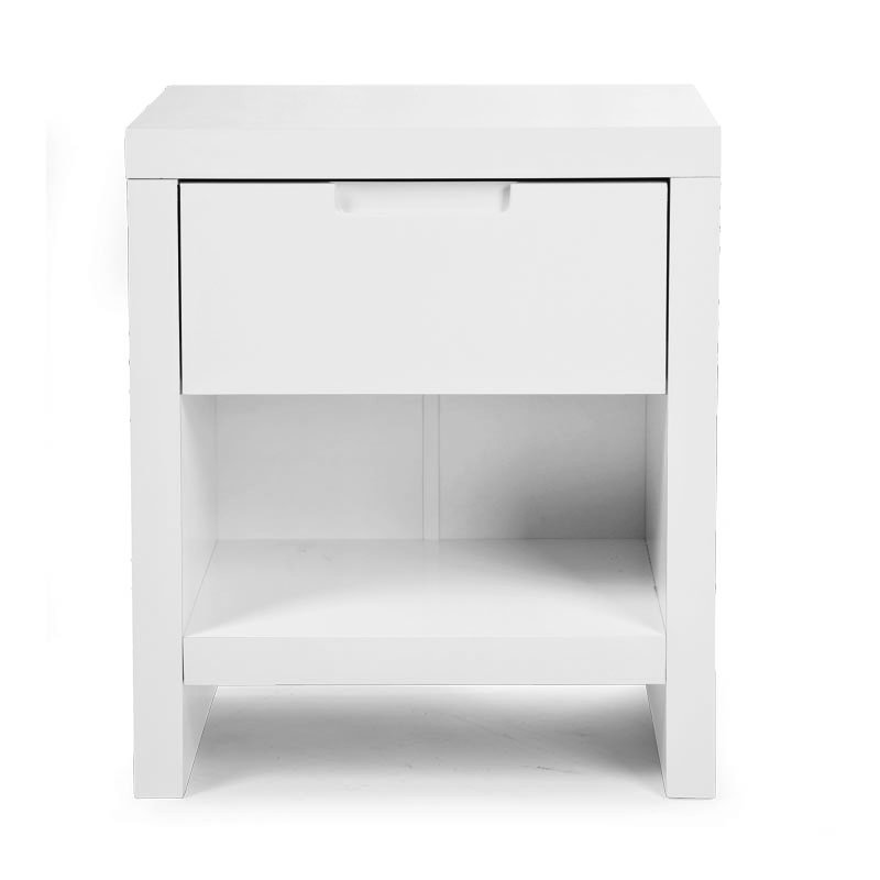 Bērnu naktsskapītis CHILDHOME Night Table Quadro white