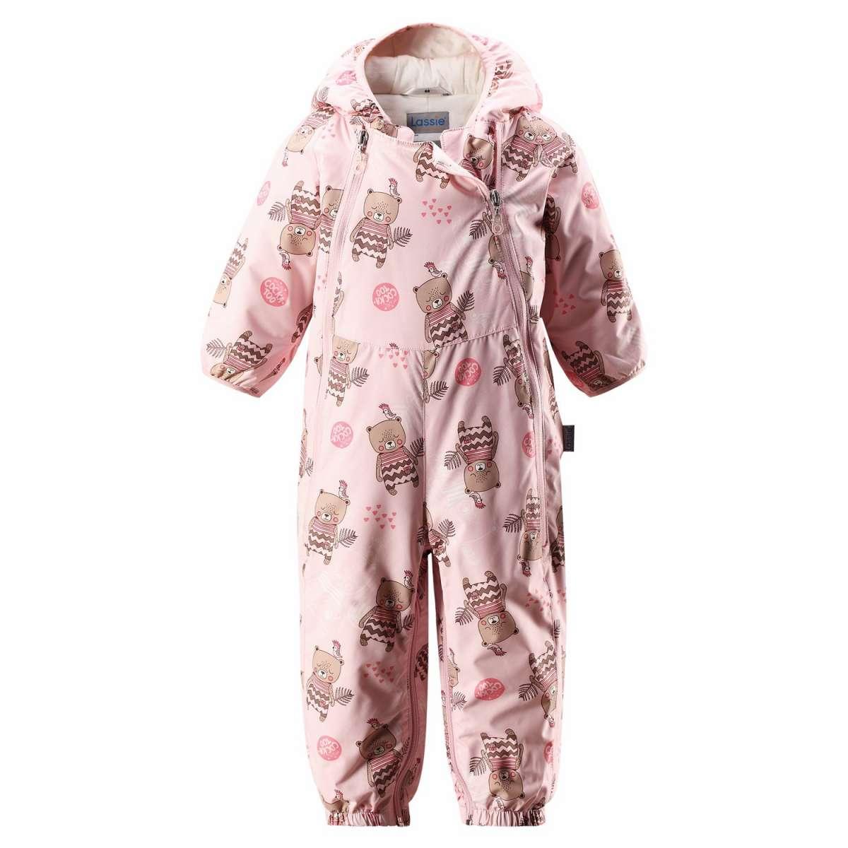 Bērnu pavasara-rudens kombinezons-transformeris Lassie'18  Baby Pink Art.710722-4071