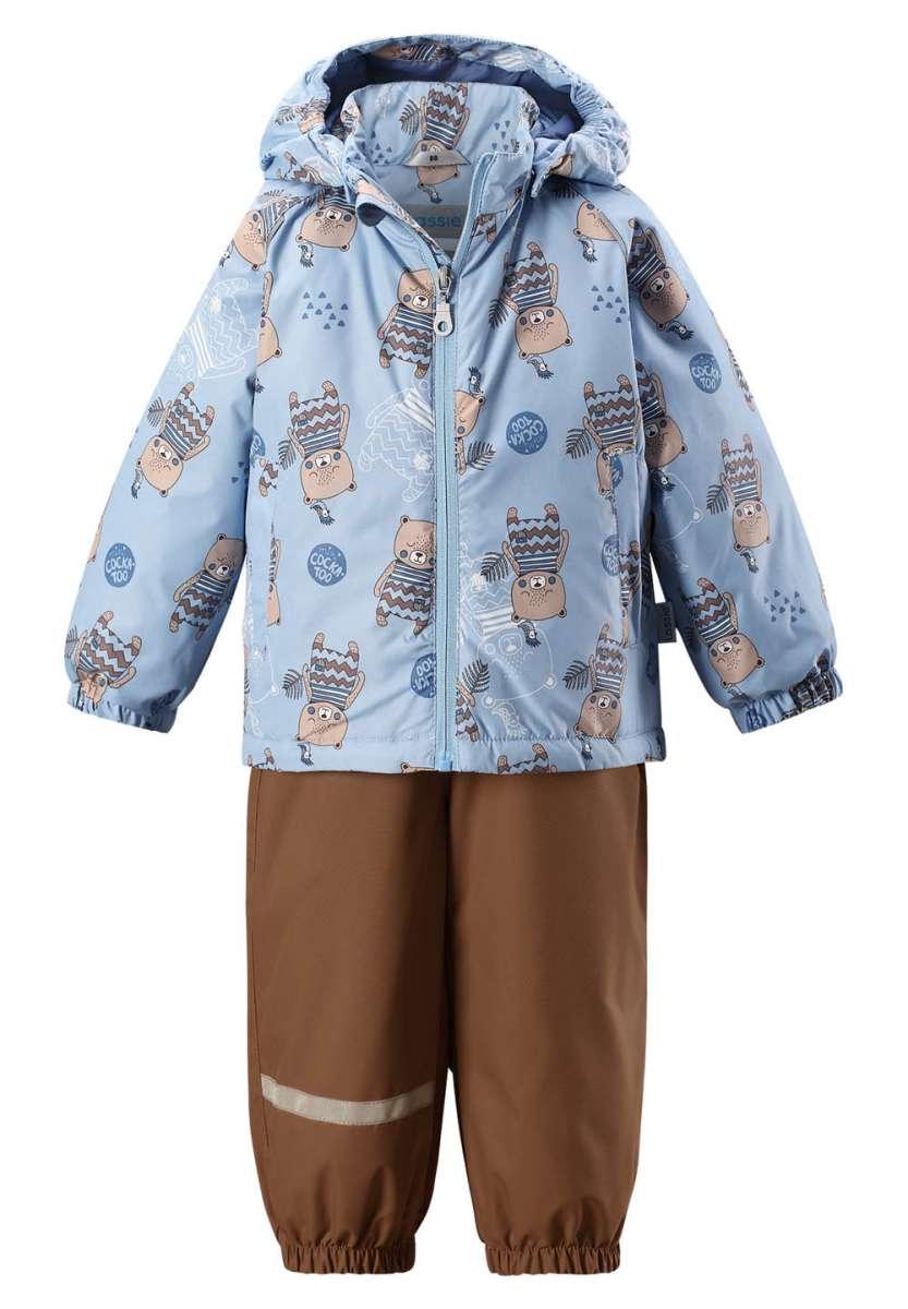 Bērnu pavasara-rudens komplekts: jaka un bikses Lassie'18 Lassietec® Light Blue Art.713722-6201