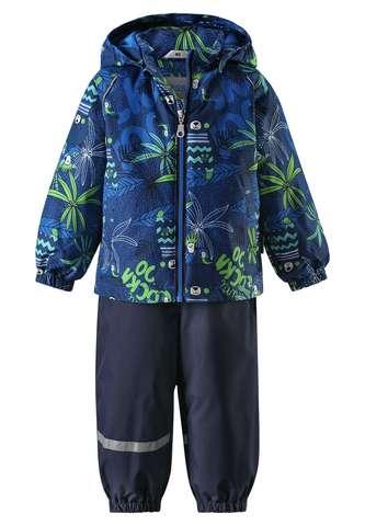 Bērnu pavasara-rudens komplekts: jaka un bikses Lassie'18 Lassietec® Mid Blue Art.713723R-6611