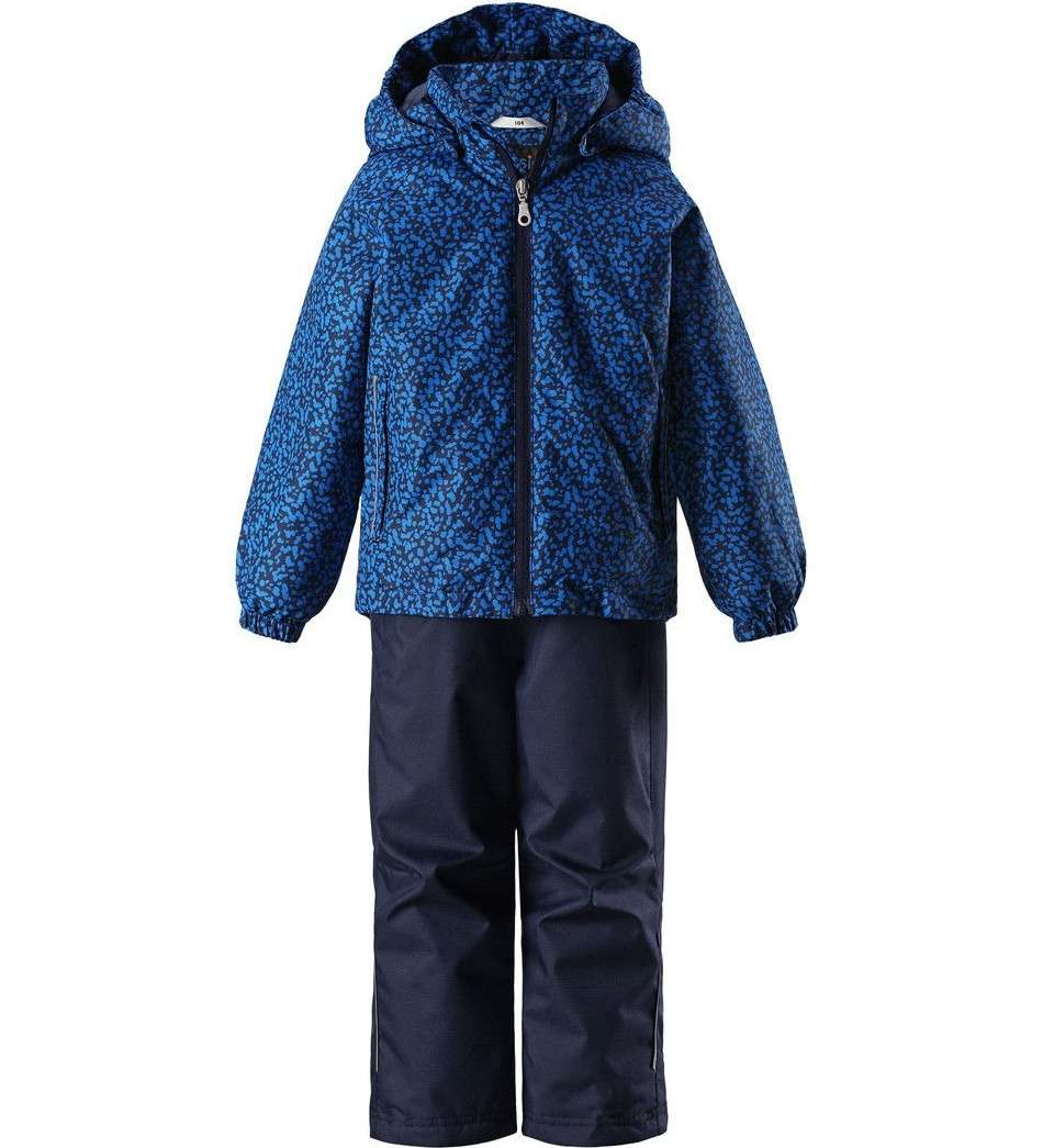 Bērnu pavasara-rudens komplekts: jaka un bikses Lassie'18 Lassietec® Mid Blue Art.723723- 6611