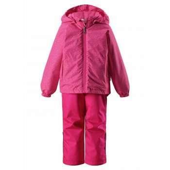 Bērnu pavasara-rudens komplekts: jaka un bikses Lassie'18 Lassietec® Pink Art.723723-4681