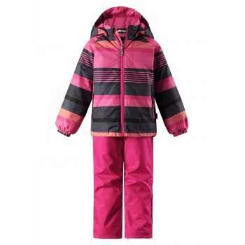 Bērnu pavasara-rudens komplekts: jaka un bikses Lassie'18 Lassietec® Pink Art.723723-4682