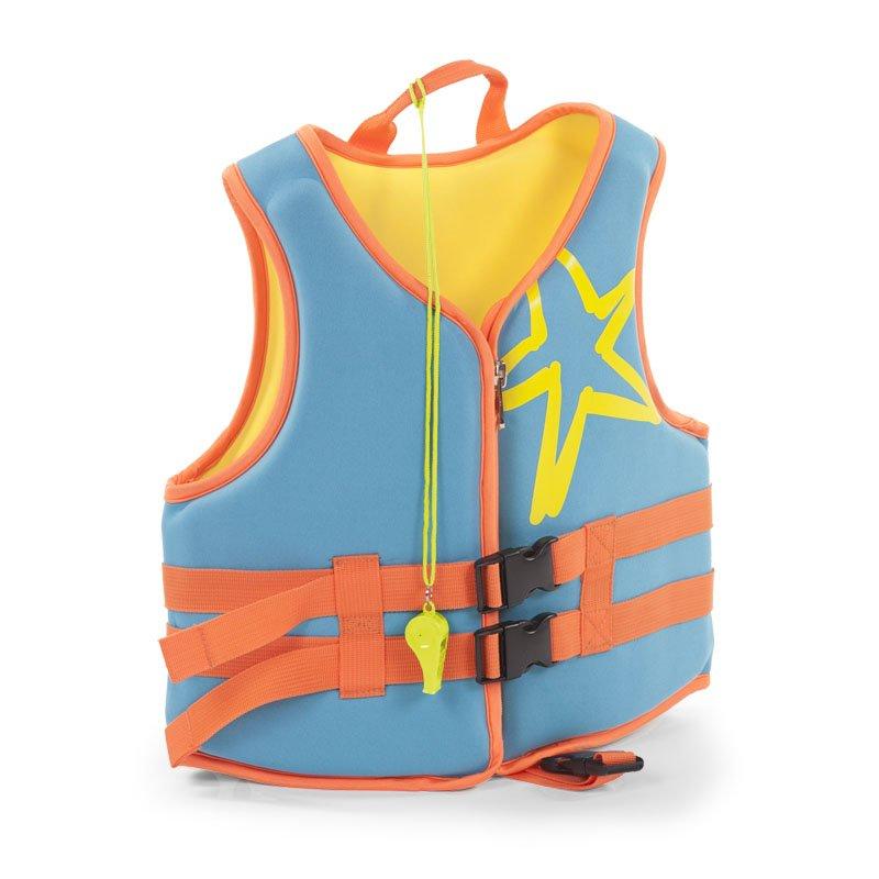 Bērnu peldveste CHILDHOME Neoprene Swim Jacket aqua blue 2-3 y