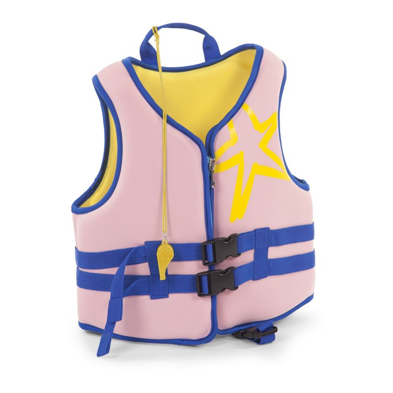Bērnu peldveste CHILDHOME Neoprene Swim Jacket old pink 2-3 y
