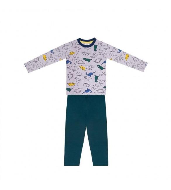 Bērnu pidžama zēnam YOclub DINO PJC-001