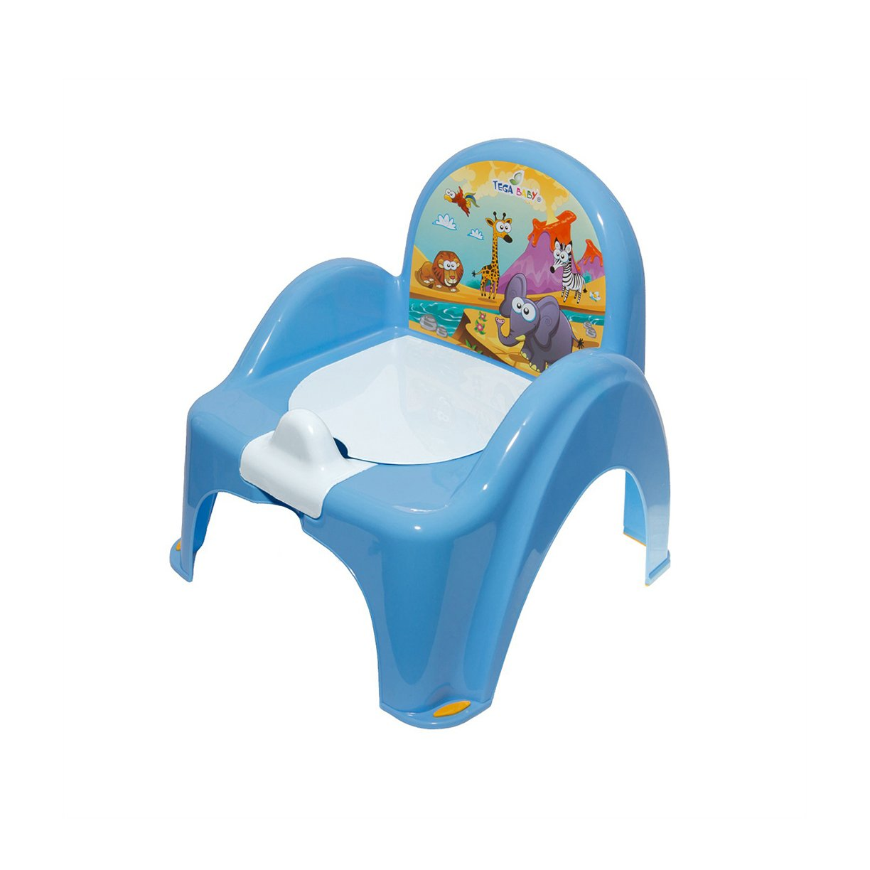 Bērnu podiņš-krēsliņš TegaBaby SAFARI blue SF-010