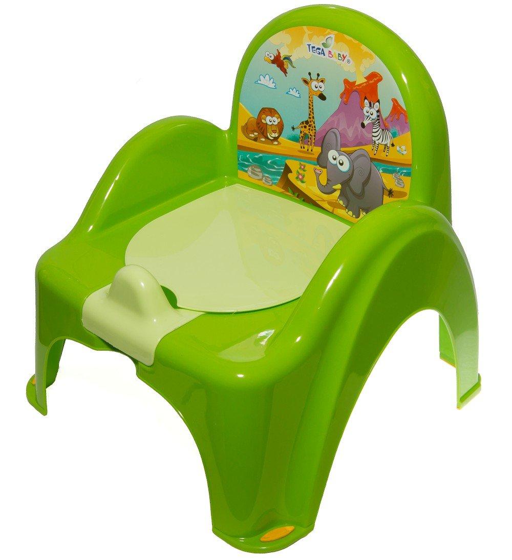 Bērnu podiņš-krēsls TegaBaby SAFARI green SF-010