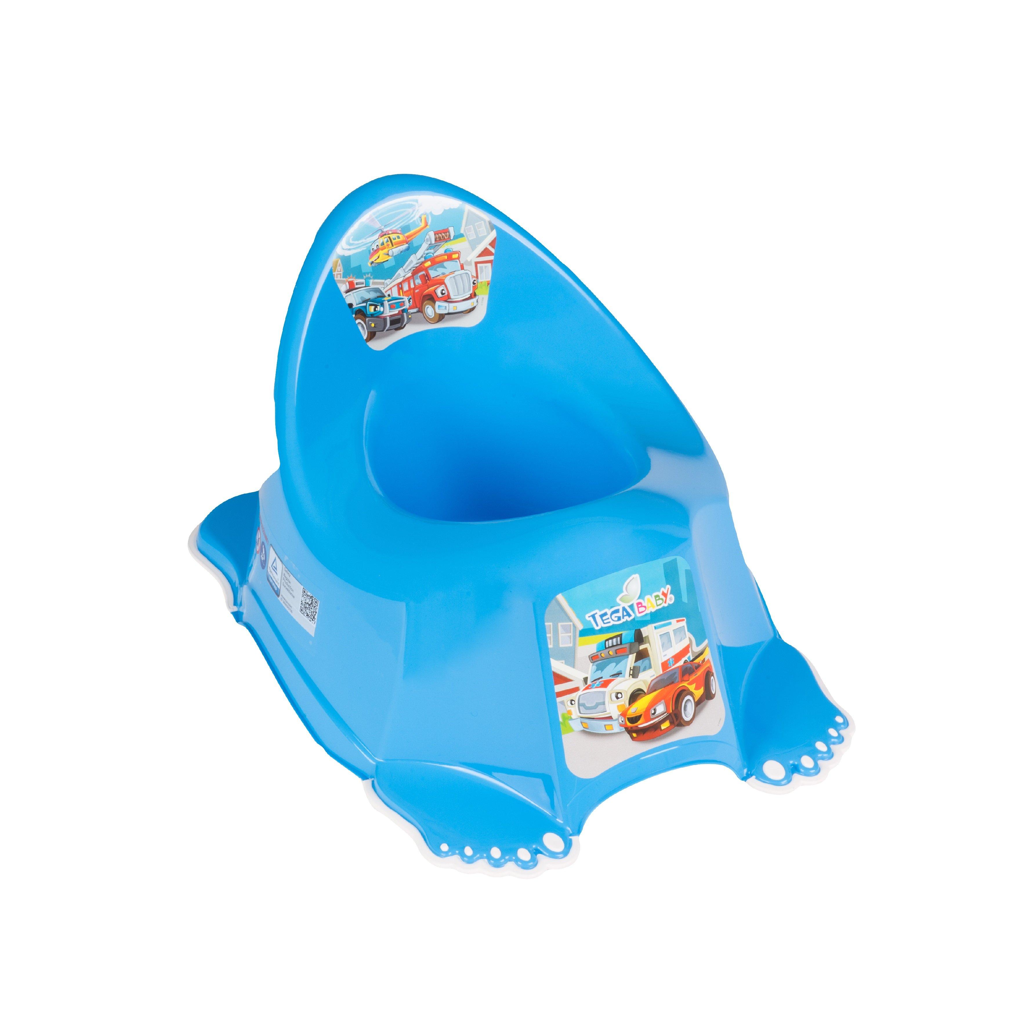 Bērnu podiņš TegaBaby CARS blue