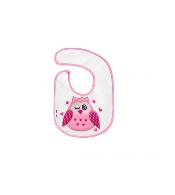 Bērnu priekšautiņš AKUKU OWL pink A1305