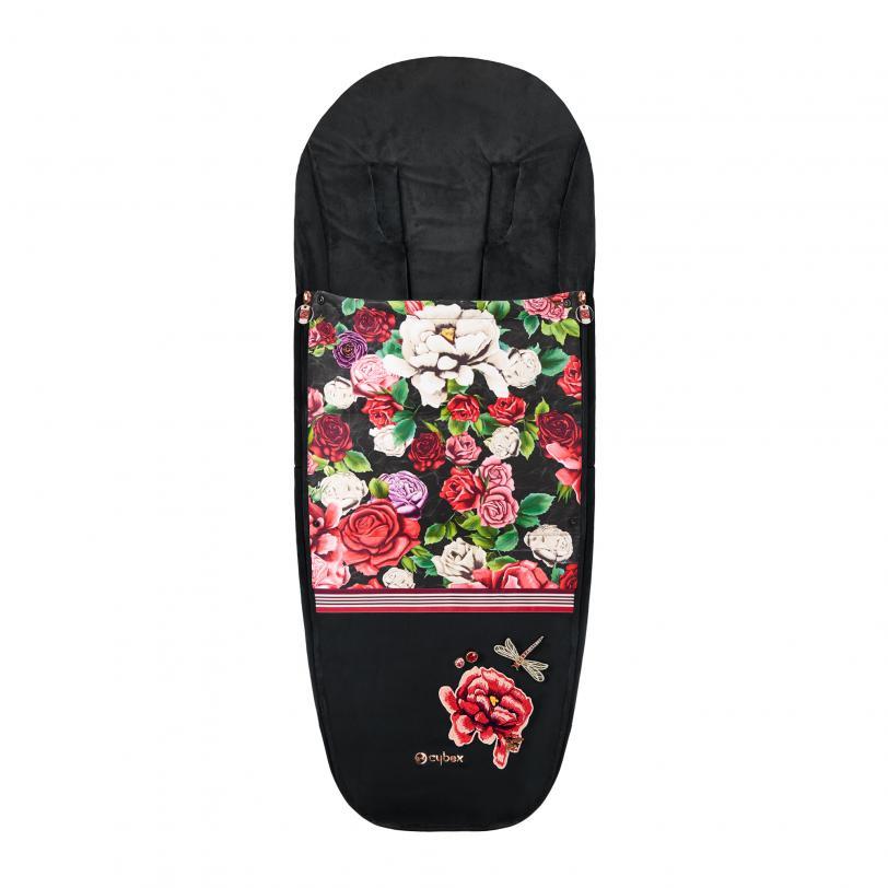 Bērnu ratu guļammaiss CYBEX Footmuff Spring Blossom Dark