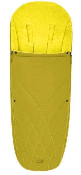 Bērnu ratu guļammaiss Cybex Platinum Footmuff Mustard Yellow