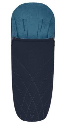 Bērnu ratu guļammaiss Cybex Platinum Footmuff Nautical Blue