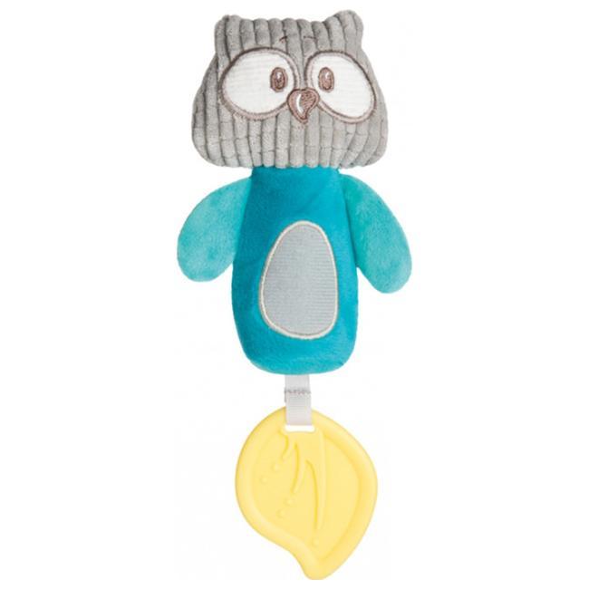 Bērnu rotaļlieta ar pīkstuli Canpol PASTEL FRIENDS turkus 68/068