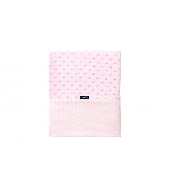 Bērnu sedziņa - plediņš 75x100 cm WOMAR pink WOM-KM006