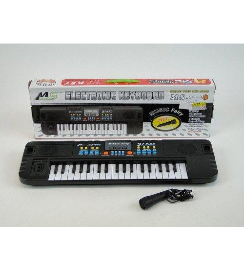 Bērnu sintezators MS-008 37 taustiņi ar mikrofonu (baterijas) 48 см 173996