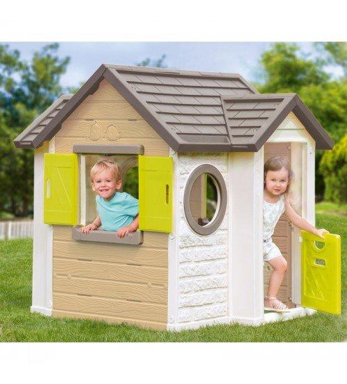 Bērnu spēļu mājiņa Smoby My Neo House 118 x 132 x 135 cm 810406