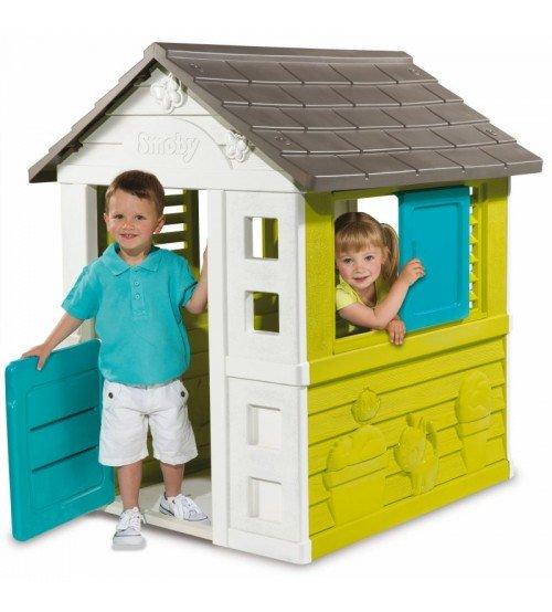 Bērnu spēļu mājiņa Smoby Pretty 98 x 110 x 127 cm 810710