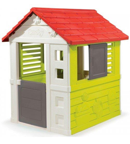Bērnu spēļu mājiņa Smoby Pretty 98 x 110 x 127 cm 810712