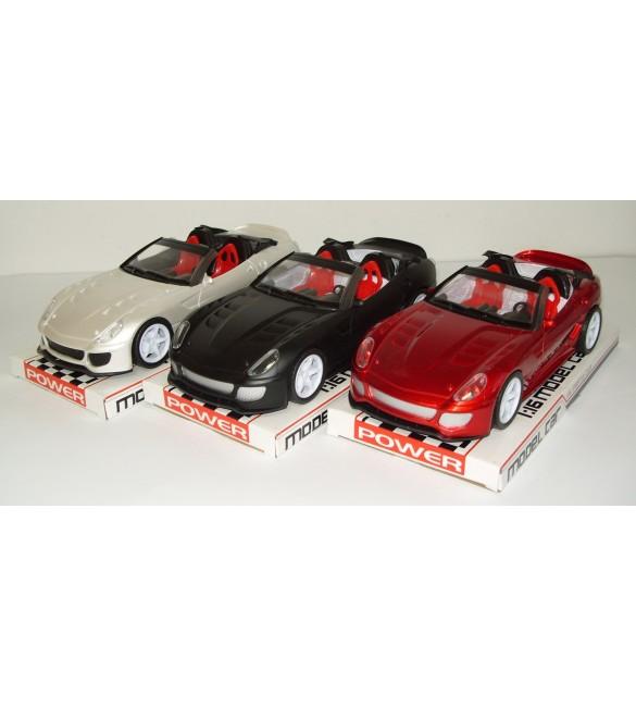 Bērnu sporta mašīna Kabriolets Friction SACV888-4A