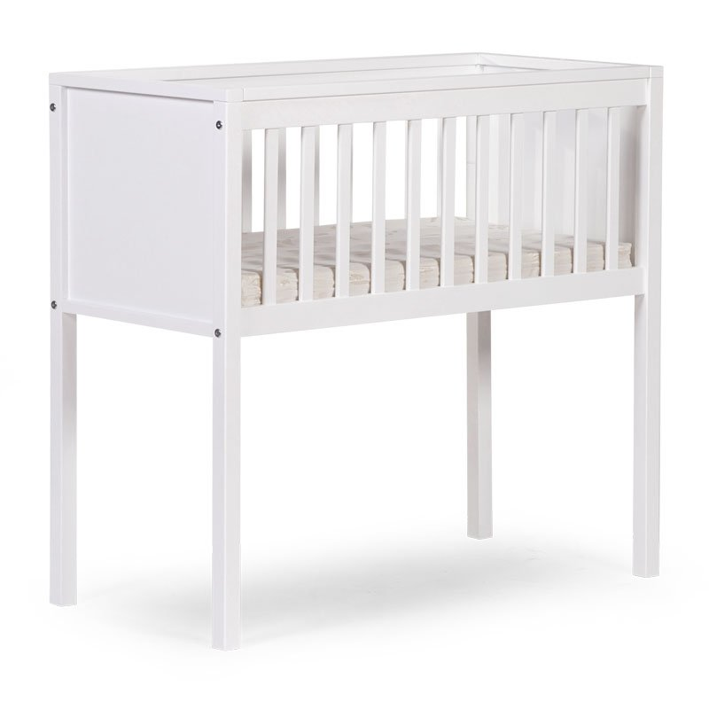 Bērnu šūpulis 40x90 сm CHILDHOME Cradle Beech white