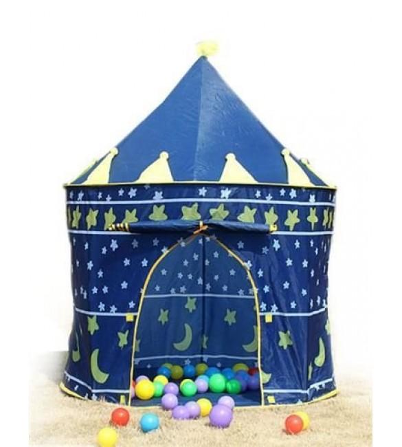 Bērnu telts-pils 135x105 cm 1163 blue