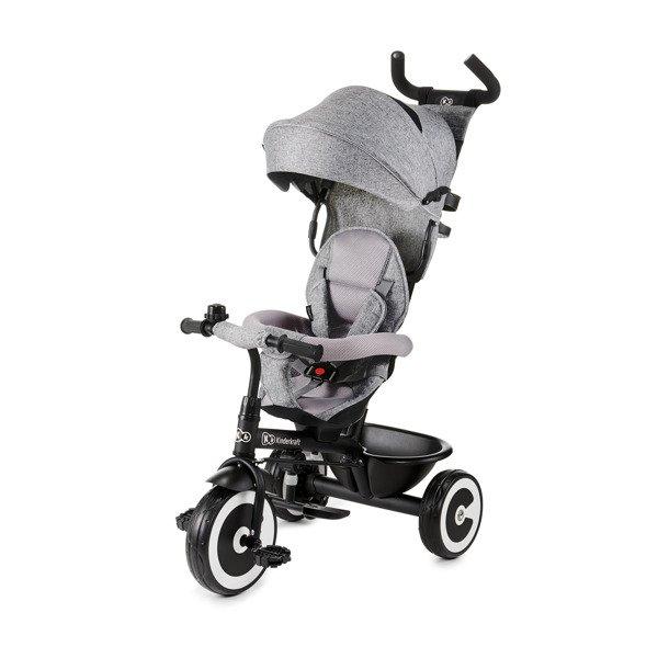 Bērnu trīsritenis Kinderkraft Aston Grey