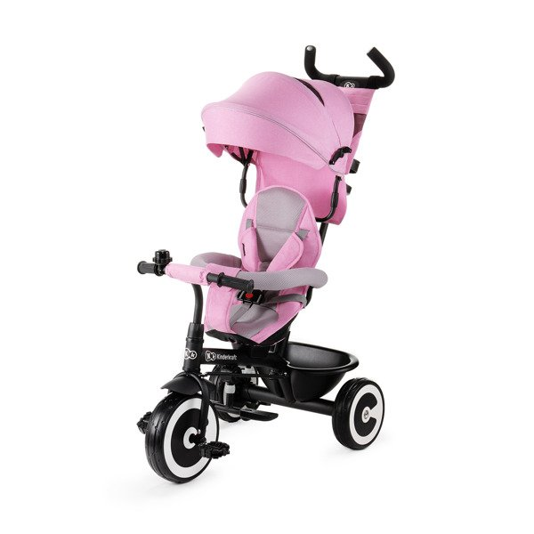 Bērnu trīsritenis Kinderkraft Aston Pink