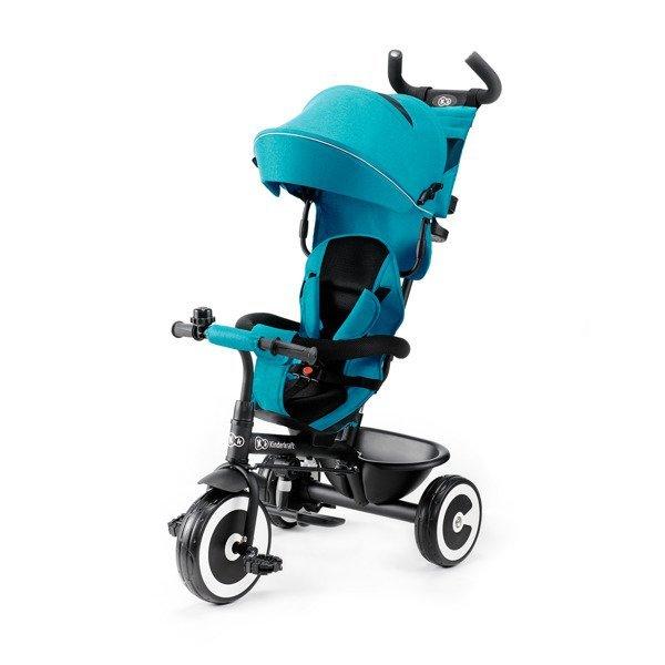 Bērnu trīsritenis Kinderkraft Aston Turquoise