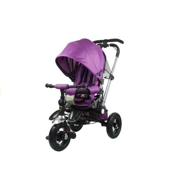 Bērnu trīsritenis Saliekams PRO700 purple 2599