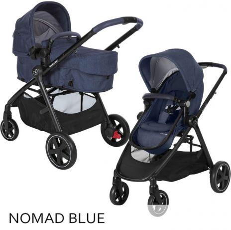 Bērnu universālie rati - transformeri 2 vienā MAXI-COSI Zelia Nomad Blue