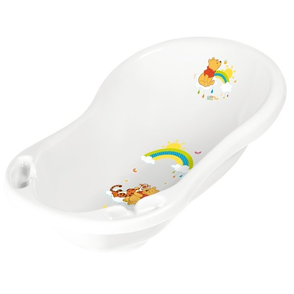 Bērnu vanna ar korķi OKT KIDS WINNIE THE POOCH Disney 84 cm