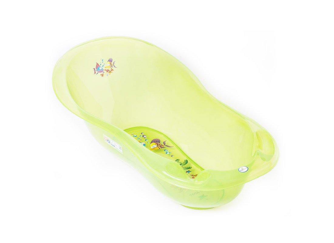 Bērnu vanna ar termometru TegaBaby AQUA green 102 сm