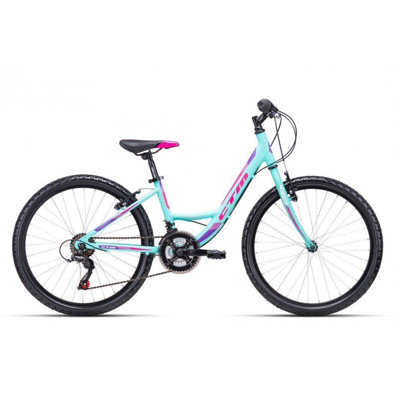 "Bērnu velosipēds CTM Missy 24"" Turquoise"