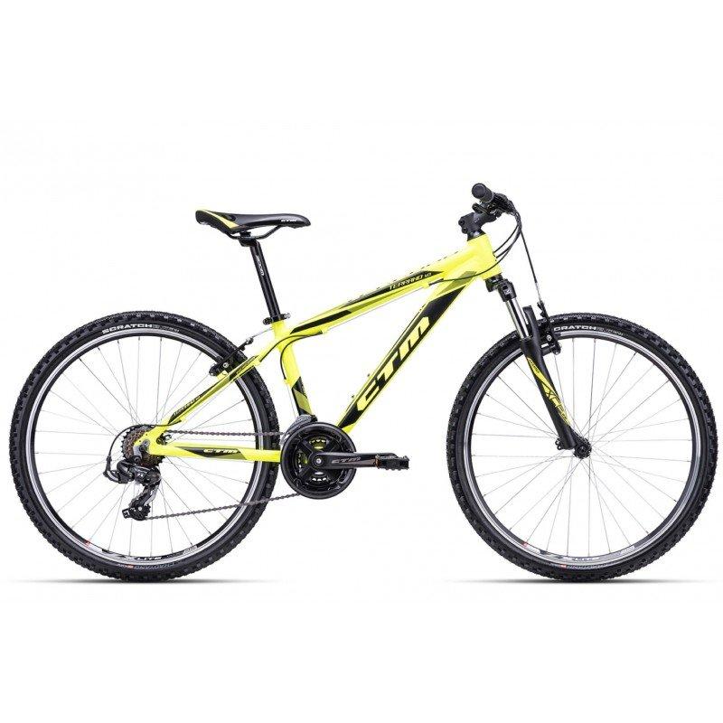 "Bērnu velosipēds CTM MTB alloy Terrano 1.0 26"" Yellow"