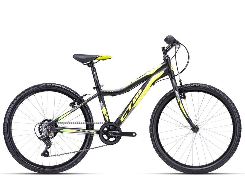 """Bērnu velosipēds CTM Rocky 1.0 24"""" grey"""